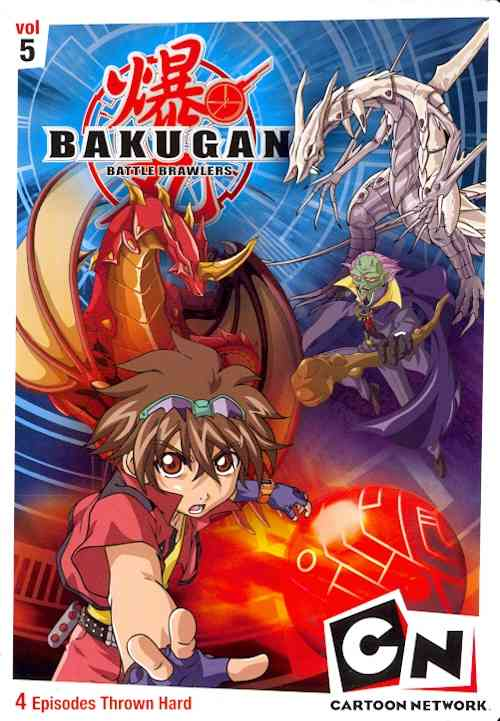 BAKUGAN VOLUME 5:GAME IS REAL BY BAKUGAN (DVD)